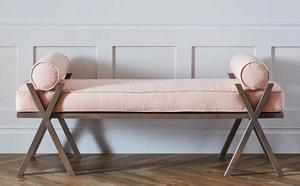 Upholstered Camp Bedroom Bench