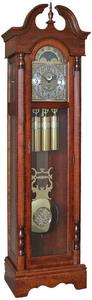 The Trails Curley Grandfather Clock with Triple Chime
