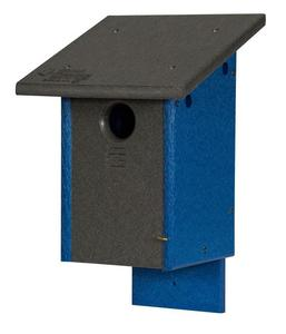 Amish Poly Classic Blue Bird House
