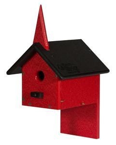 Amish Poly Wren Church Bird House