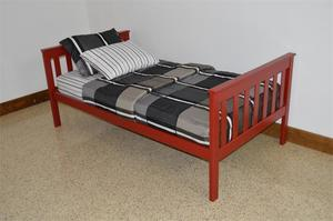 DutchCrafters Amish Kids Twin Mission Bed