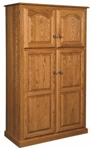 Amish Lux Traditional 4-Door Pantry
