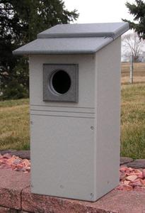 Amish Northern Flicker Nesting Woodpecker Box