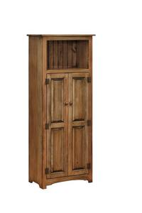 Amish Pine Pantry with Opening