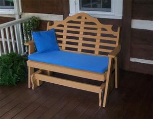 Amish Poly Lumber Chester Glider Bench