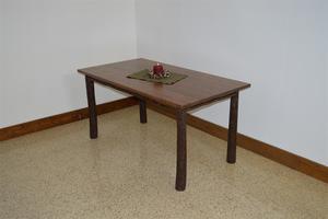 Amish Hickory Farm Table