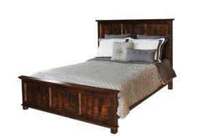 Ruff Sawn Rustic Coronado Bed