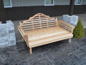 Amish Cedar Wood Outdoor Marlboro Daybed