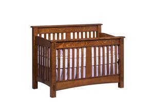 Amish San Marino Convertible Crib