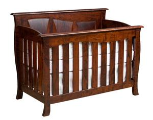 Amish Kenwood Slat Convertible Crib