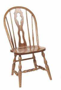 Amish Fiddleback Windsor Dining Chair