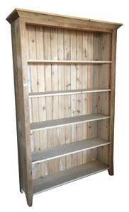 Rustic Barn Wood Bookshelf