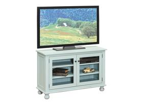 Amish Contemporary TV  Stand with Flat Panel