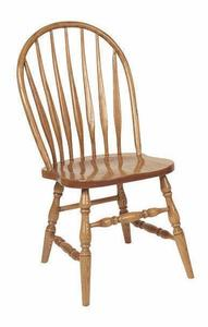 Amish Bent Low Windsor Dining Chair