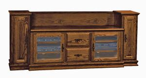 Amish Heritage TV Stand with Towers