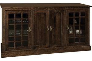 """Amish 68"""" Mission TV Stand"""