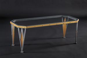Amish Hand Forged Kensington Iron Table