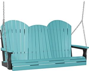 LuxCraft 5' Adirondack Poly Swing