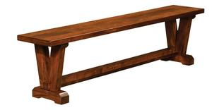 Amish Victor Dining Bench