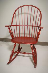 In Stock Amish Early American Windsor Rocking Chair