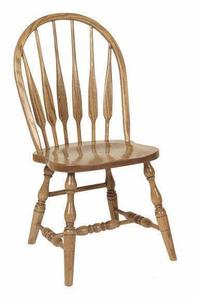 Amish Feather Low Windsor Dining Chair
