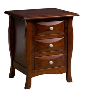 Amish Cayman Kids Three Drawer Kids Nightstand