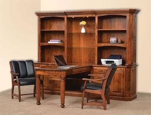 Amish His & Hers Partners Desk