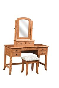 "Amish 50"" Fair Haven Dressing Table"