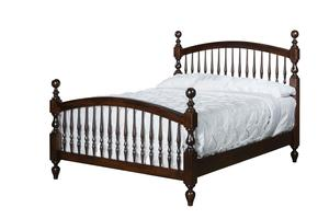 Amish Bow Spindle Bed