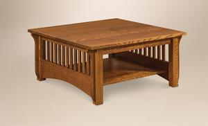 Amish Pioneer Mission Square Coffee Table