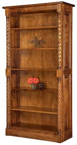 Amish Kincaid Open Bookcase