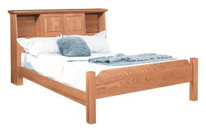 Amish Scarbough Bookcase Bed