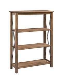 Amish Crossway Bookcase