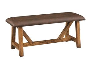 Amish Farmstead Bench