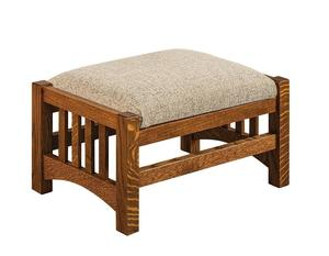 Amish Pioneer Mission Footstool