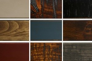 Country Traditions Pine Finish Samples-Note Sample Fee Refunded When Samples Returned