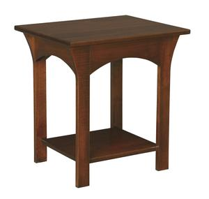 Amish Monarch End Table