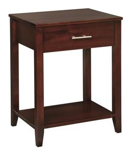 Amish Contemporary 1-Drawer Nightstand