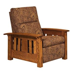 Amish McCoy Mission Wall Hugger Recliner