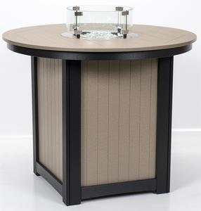 Berlin Gardens Donoma Fire Table with Poly Top