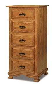 Amish Hoosier Heritage Five Drawer Lingerie Chest