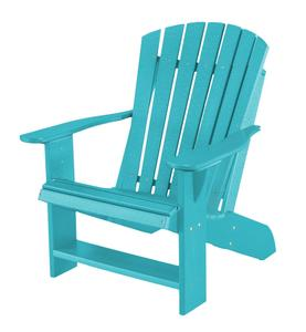 Eco Poly Lumber Outdoor All Weather Adirondack Chair