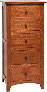 Amish Barrs Mills Mission Lingerie Chest