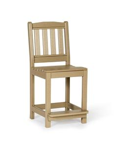 Kings Garden Amish Patio Recycled Poly Bar Chair