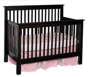 Quick Ship Avalon Shaker Convertible Crib