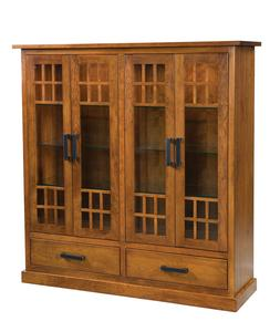 Amish Parker Display Cabinet