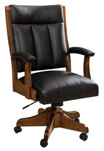 Amish Roxbury Upholstered Desk Chair