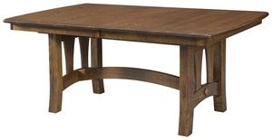 Amish Riverside Trestle Table