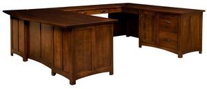 Amish Oakwood U Desk