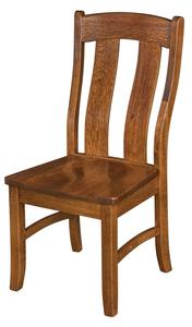 Amish Waverly Side Dining Chair - Quick Ship